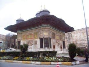 ÜÇÜNCÜ AHMED ÇEŞMESİ-S.AHMED 030